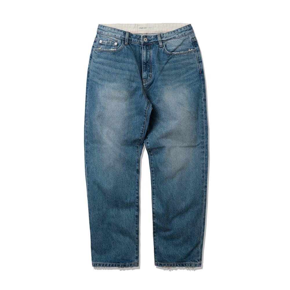 505. Damaged Denim Pants L.Blue