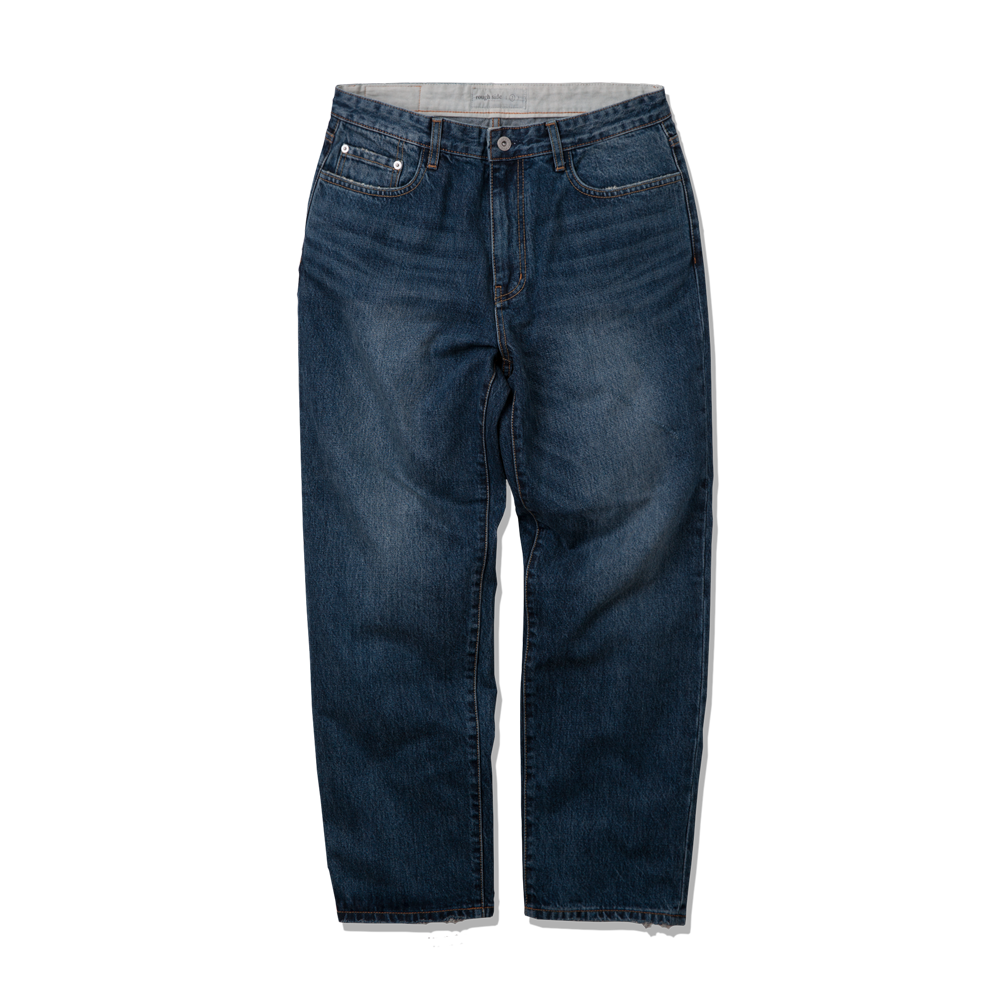 505. Damaged Denim Pants D.Blue