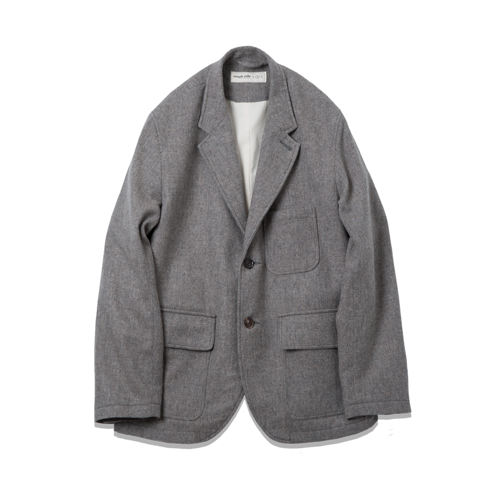 206. Homespun Jacket Grey