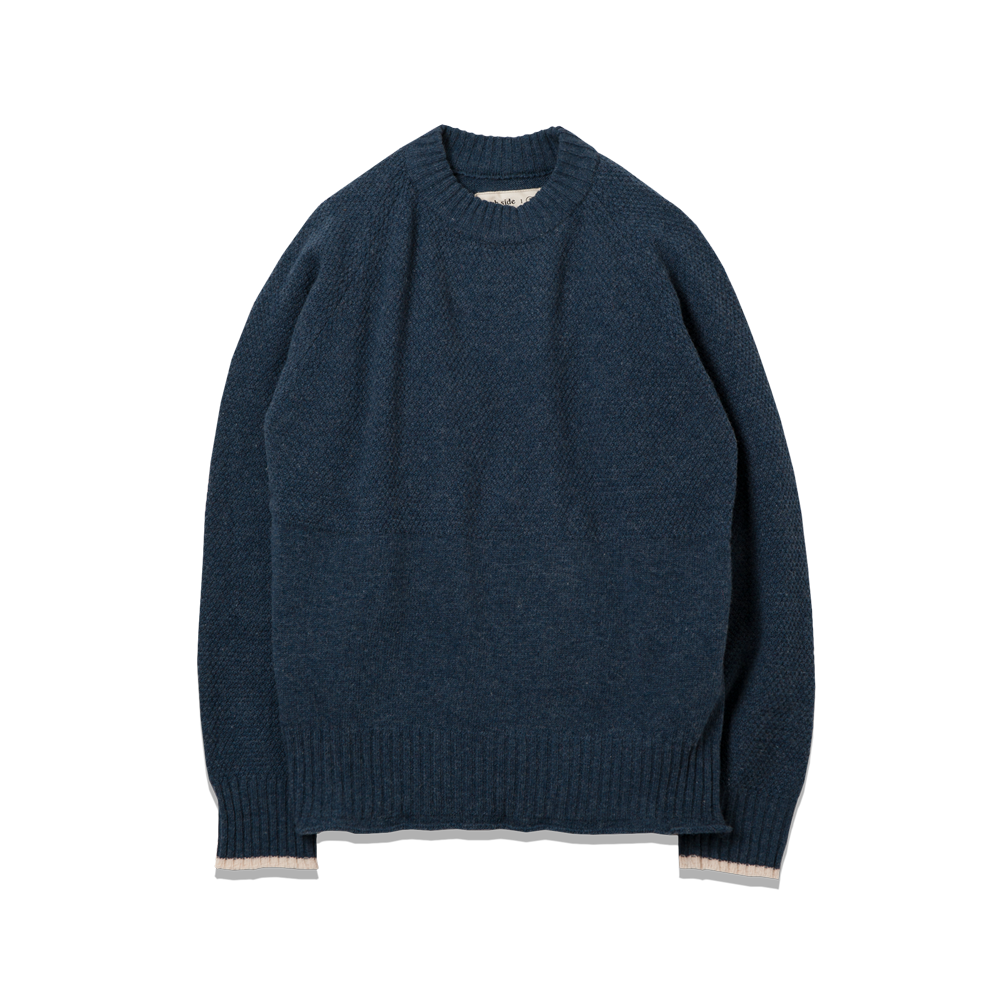 107. Fisherman Knit Navy