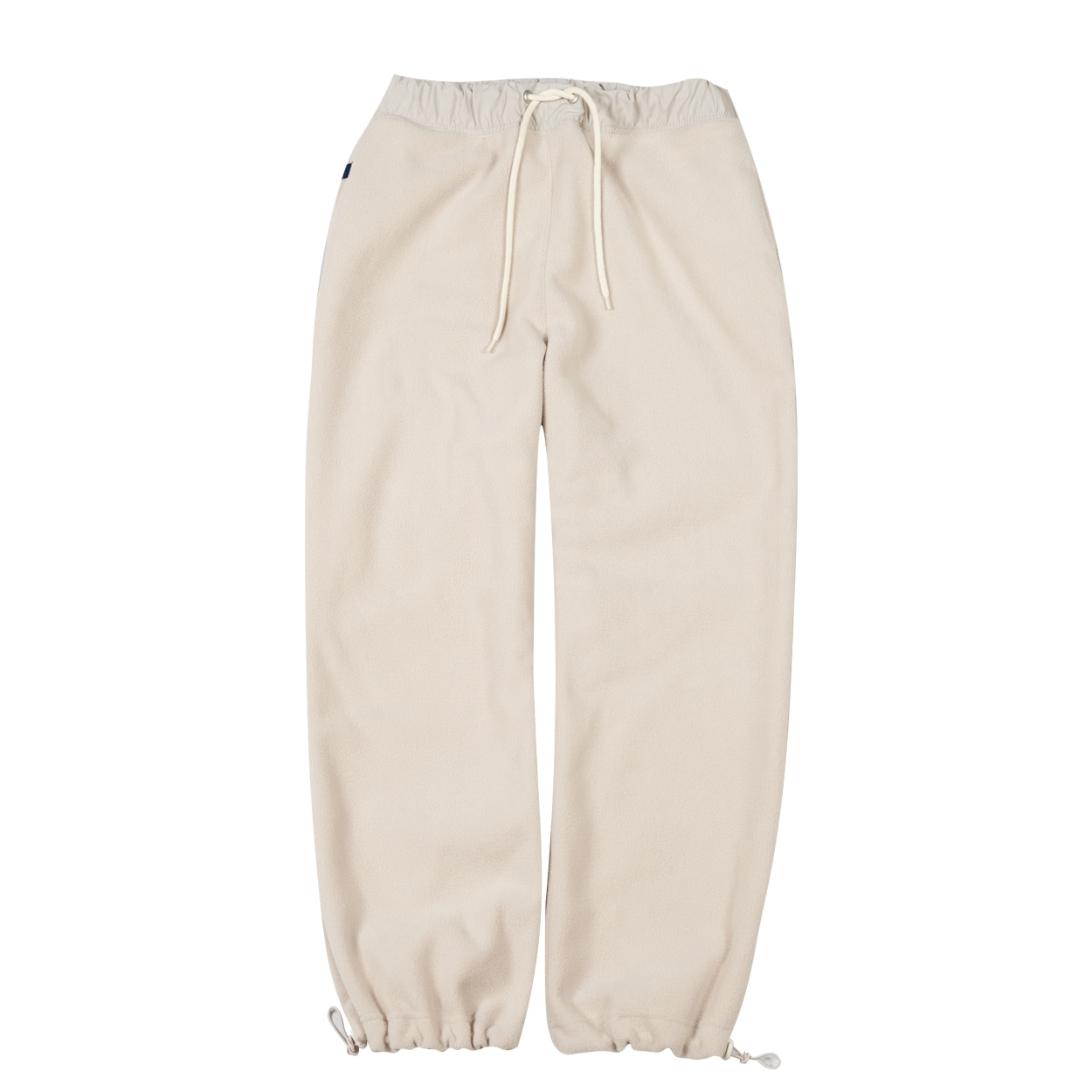 FLEECE PANTS - IVORY
