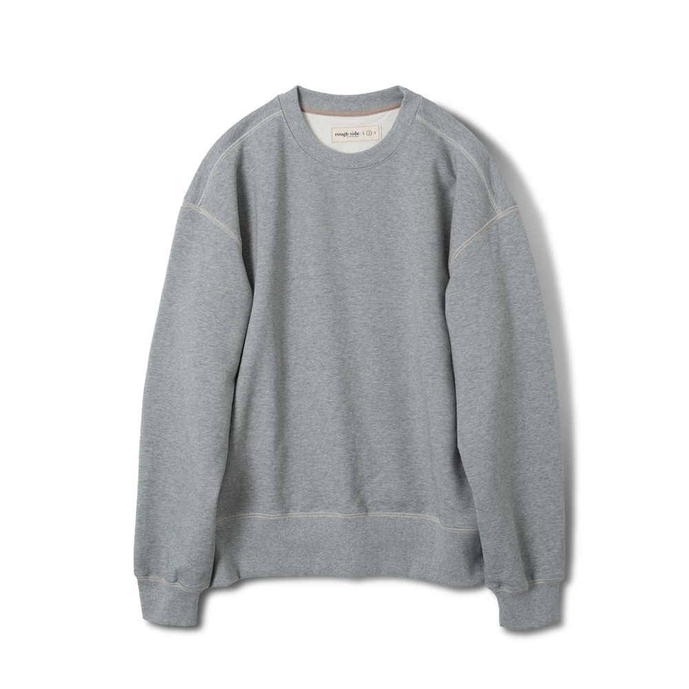 105B. Oversized Sweat Shirts M.Grey