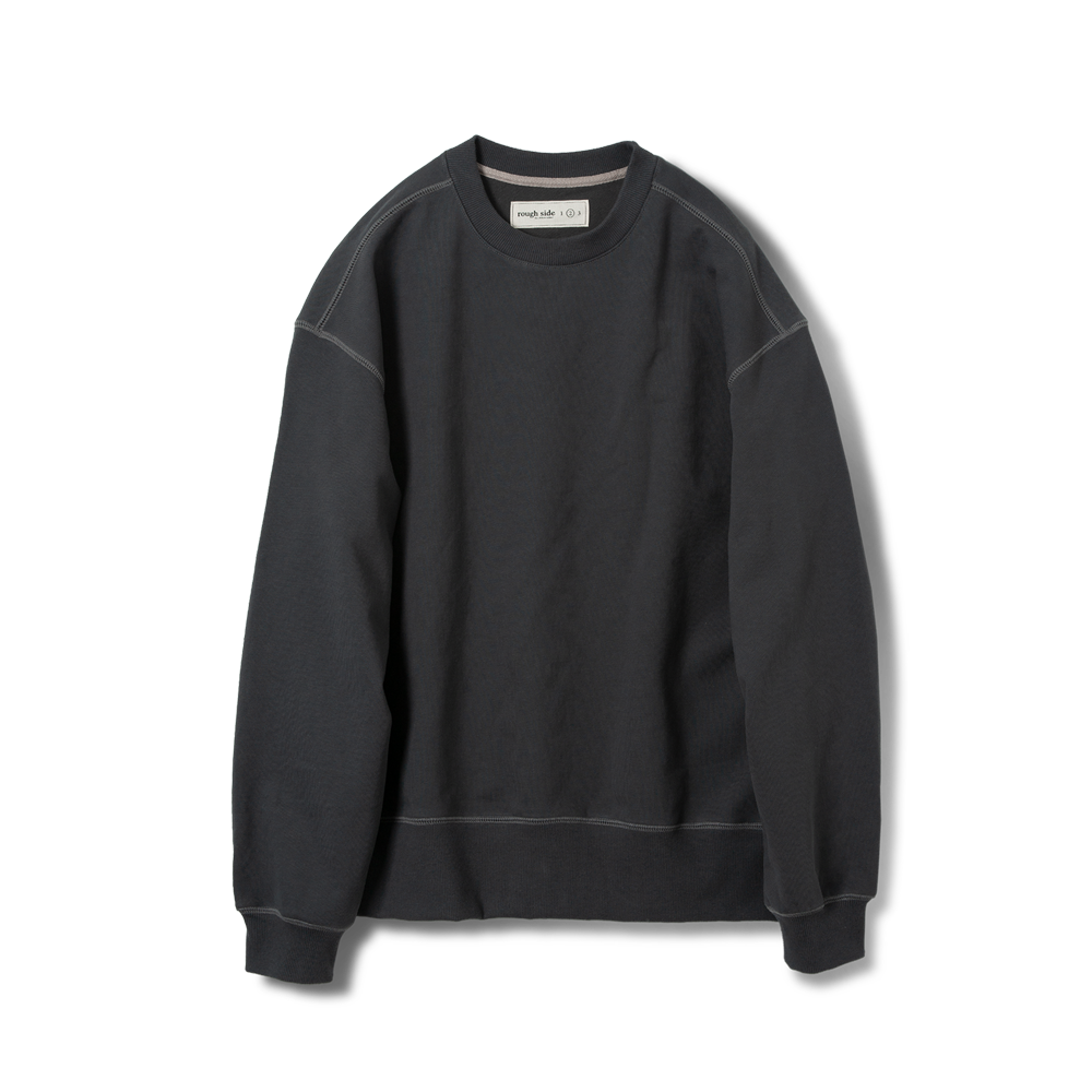 105B. Oversized Sweat Shirts D.Charcoal