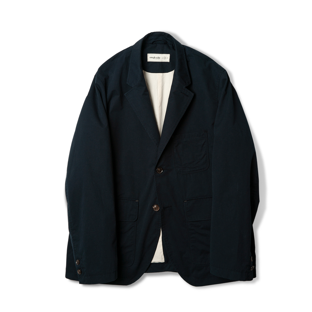 207. Folk Jacket Navy